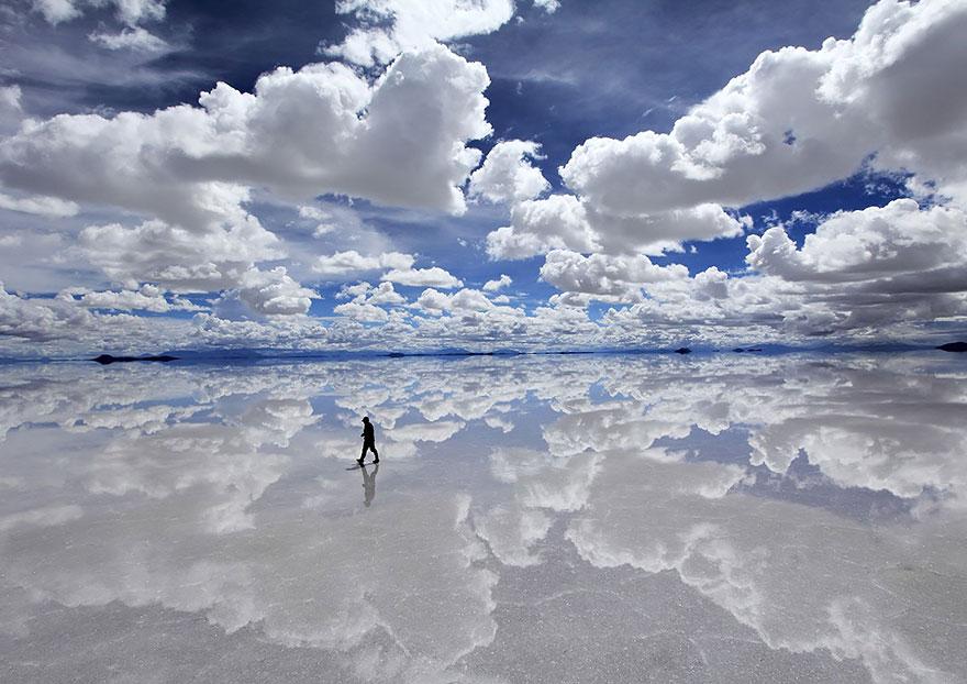 Salar De Uyuni maailman suurin suolatasanko