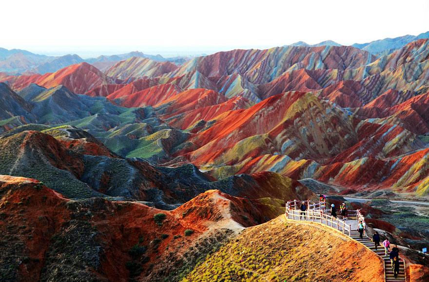 Zhangye Danxia Landform Gansu, Kiina