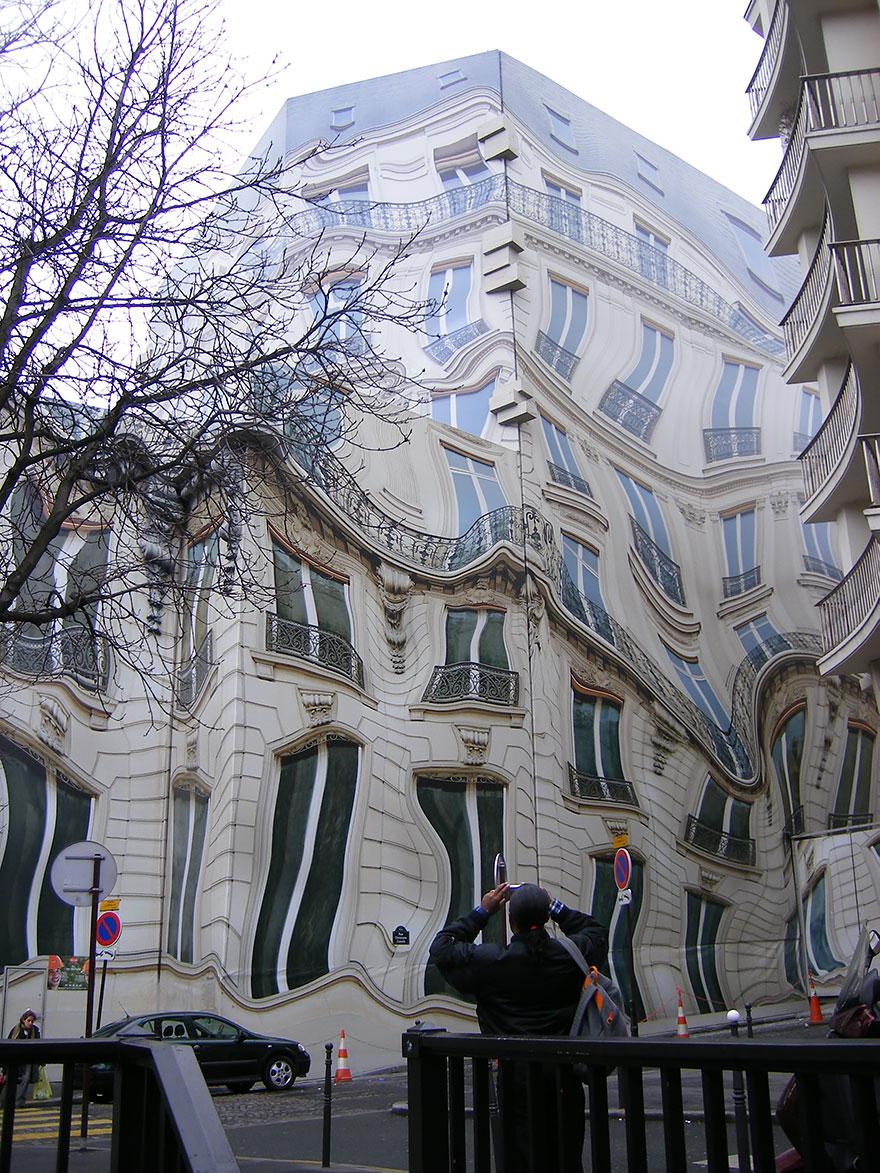 Hausmannian rakennus Pariisissa