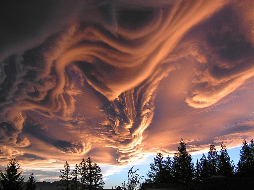 Undulatus Asperatus pilviä