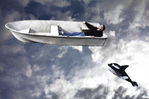 Unissa lentäminen on yleistynyt